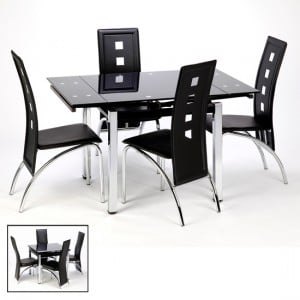 How to choose the best table for your home from extendable dining sets with 4 folding chairs?