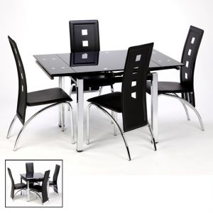 Paris and Bellini 300x300 - How to choose the best table for your home from extendable dining sets with 4 folding chairs?