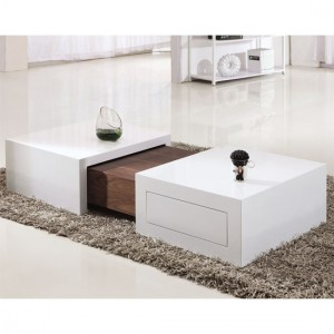 2 unique coffee tables for decorating your living room