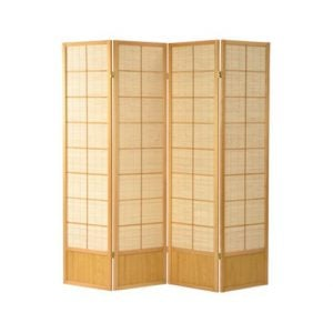 natural wooden room divider matsu 300x300 - Revamp the reading room with room divider with bookshelves