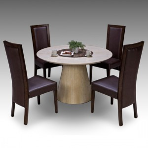Add a chic style statement in your house with a retro extendable dining table