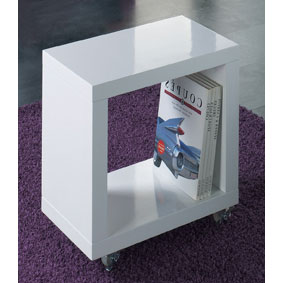 side end table white gloss 873841 - Side tables for an office