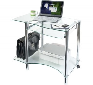 How to Protect Glass Computer Table from Scratches and Stains?