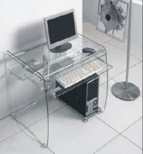 How to buy a modern glass computer desk