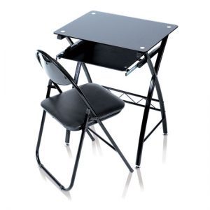computer table chair CTC60GBB 300x300 - How to Buy Computer Table in Glass Finish?
