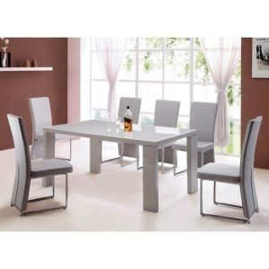 enzo dining table 300x300 - A beautiful change in your home -  white dining room furniture