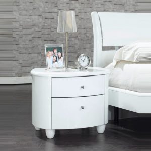 Aztec Nightstand1 300x300 - 3 Exclusive Décor Tips for White Modern Bedroom Furniture