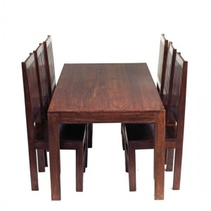Comfortable dining room chairs with high back