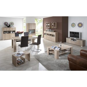 Tavola candian oak room setting2 300x300 - How to furnish a living room with living room chairs with good back support?