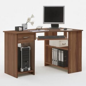Felix Plumtree corner computer desk2 300x300 - Cherry Wood Computer Desk with Drawers for More Storage
