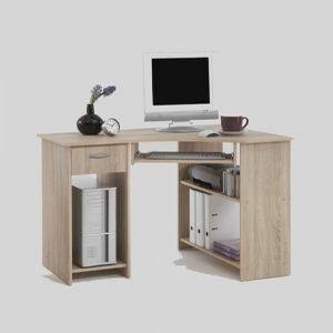 Home Office Canadian Oak Corner Computer Desk1 300x300 - Tips to Buy Computer Desks in Wooden Finish
