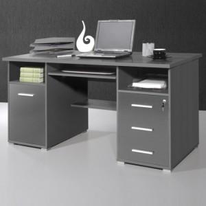 How to Find a Sleek Dark Wood Computer Desk?