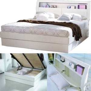 madrid bed wht 300x300 - Tips for finding small bedroom furniture sets for sale