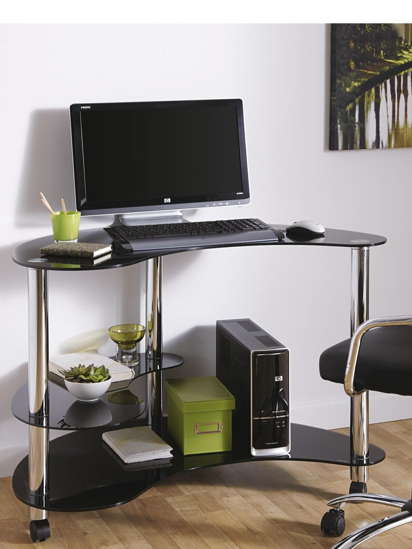 How to find a perfect cheap glass computer desk?
