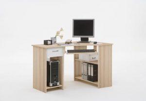 Felix Esche computer desk White 300x207 - Exclusive Décor Tips around Computer Desk in Corner