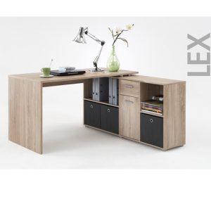 LEX Oak Corner Computer Desk 353 0011 300x300 - Décor tips for computer desk in home