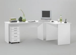 How to buy white corner computer desks for home from a wholesale?