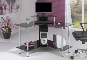 5 exclusive tips for decorating glass computer desk in corner of your room