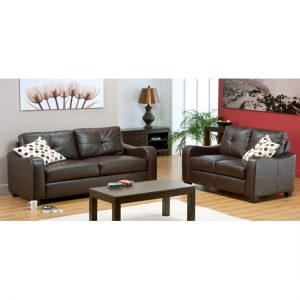 Boca Brown 2  2 Leather Suite BOKA04 300x300 - How to decorate your living room with living room furniture in leather