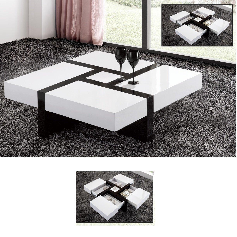 Extendable High Gloss Coffee Table