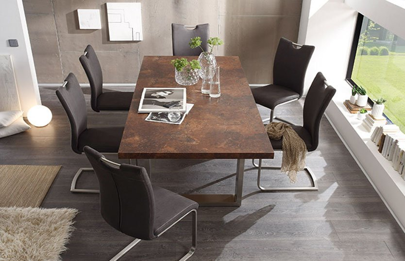 Integrating A Square Teak Dining Table Into Your Room