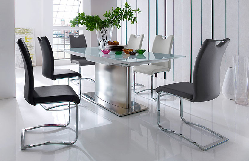 Large Contemporary Dining Tables Manchester: Functionality And Design