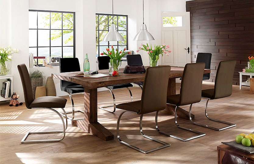 Essential Features Of Dining Room Tables For Eight