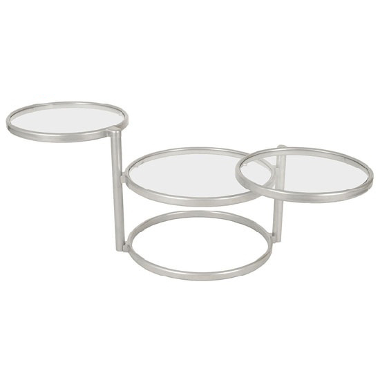64730 CT - Main Advantages Of Round White Glass Coffee Table