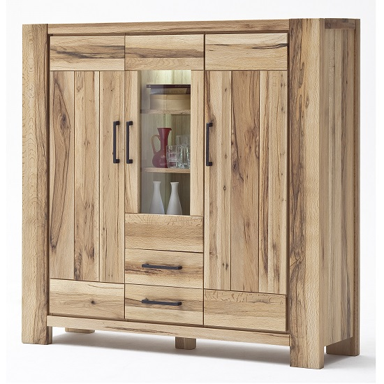 Cardiff T05 01072ZB mit Deko 9474 14 highboard - Myths About Teak Oil For Furniture And Maintaining Teak Wood