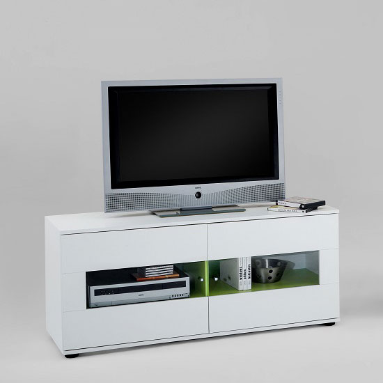 Examples Of White Wooden TV Stands UK Stores Can Offer