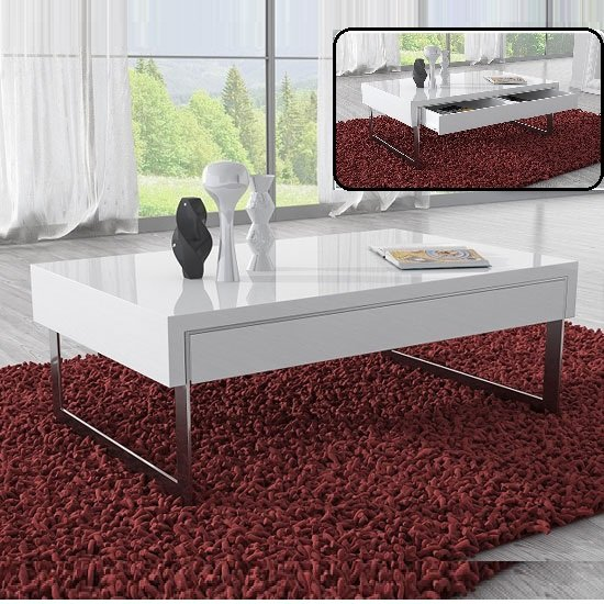 4 Reasons To Get A White Gloss Glass Coffee Table For Your Living Room