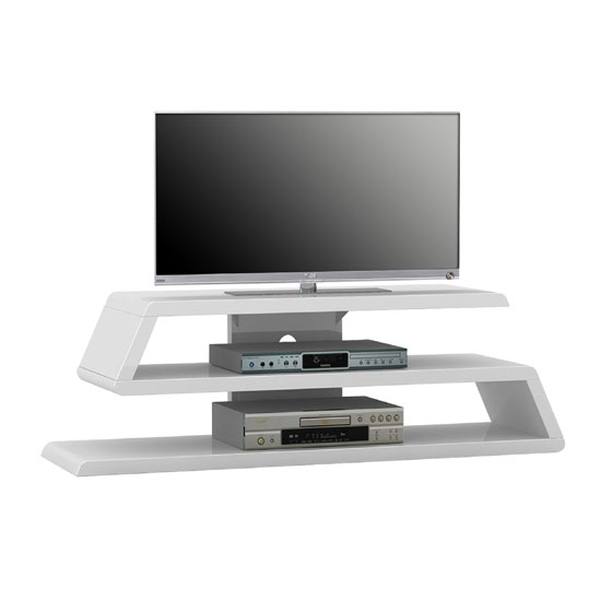 TV RACK 1629 WHITE Gloss MA - Tips While Looking For Wood TV Stands – Best Buy Online