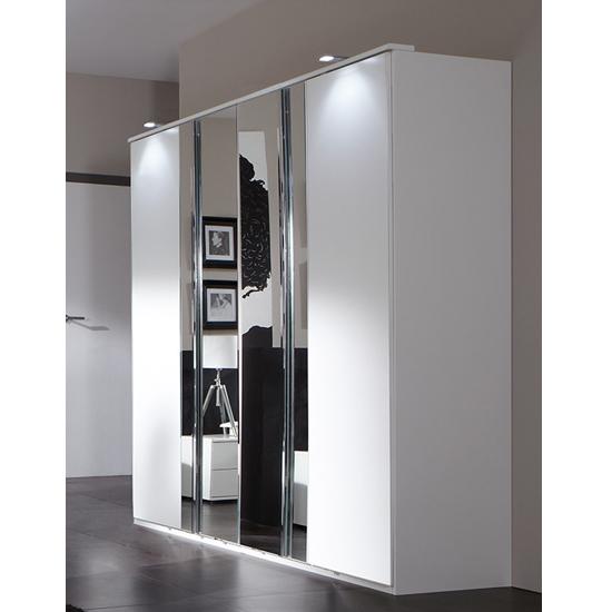 davos 4 door wardrobe 734568 - Wardrobe Ideas For Different Interiors