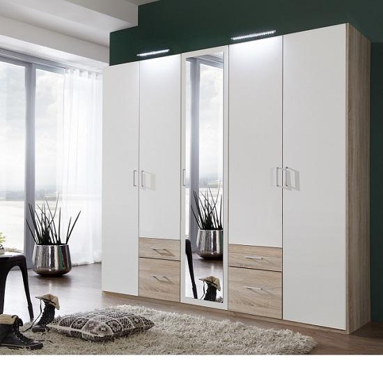 fresh 405 572 wardrobe with mirrors 1 - Wardrobe Ideas For Different Interiors