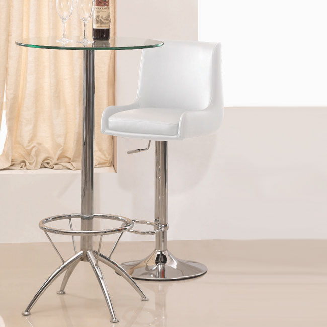 gala bar stool wht - Tips On Choosing Contemporary Bar Stools – Counter Height And Adjustable