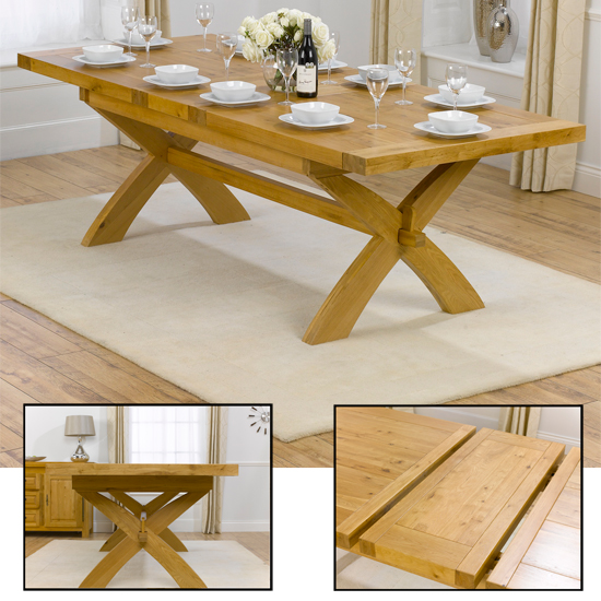 Canterbury 200 240 Extending Table - Tips On Looking For Oak Dining Furniture Online In UK