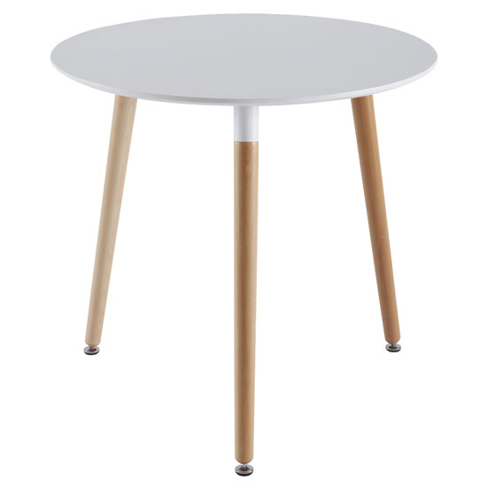 DTM 1002 WH - Shopping For Large Round Dining Tables: Interior Styles To Consider