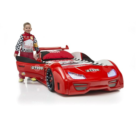 GT999 Red Car Bed - Safe Car Beds For Kids: 4 Important Features To Consider
