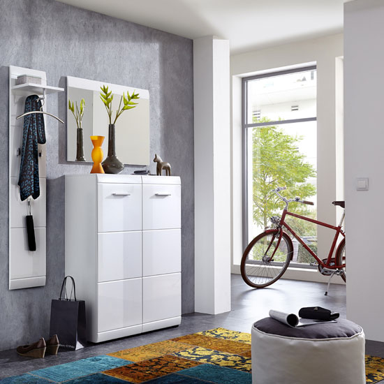 Advantages Of Shoe Storage Cabinet In Walnut Wood Effect