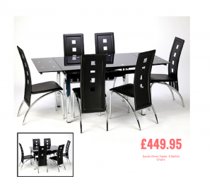 NYC 300x251 - 5 Advantages Of An Extending Black Glass Dining Table And Chairs Set
