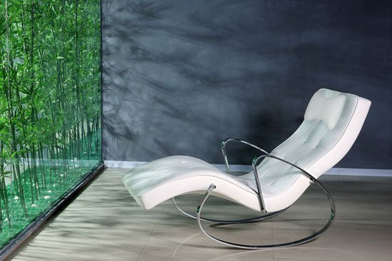 atlantis wht chair - How To Stylishly Integrate Funky Furniture Into Any Room