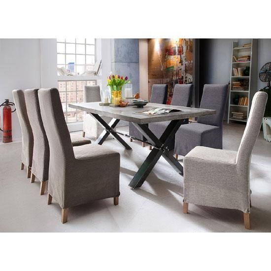 Gavi Betonoptik mit Casper  - Insightful Examples Of Dining Room Furniture For Restaurants