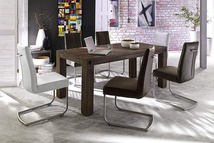 How To Stylishly Integrate Walnut Dining Room Furniture Into The Room