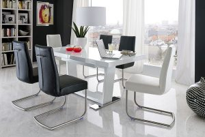 flair manhattan 300x201 - How To Choose Stylish Chairs For An Extendable Dining Table In White Gloss