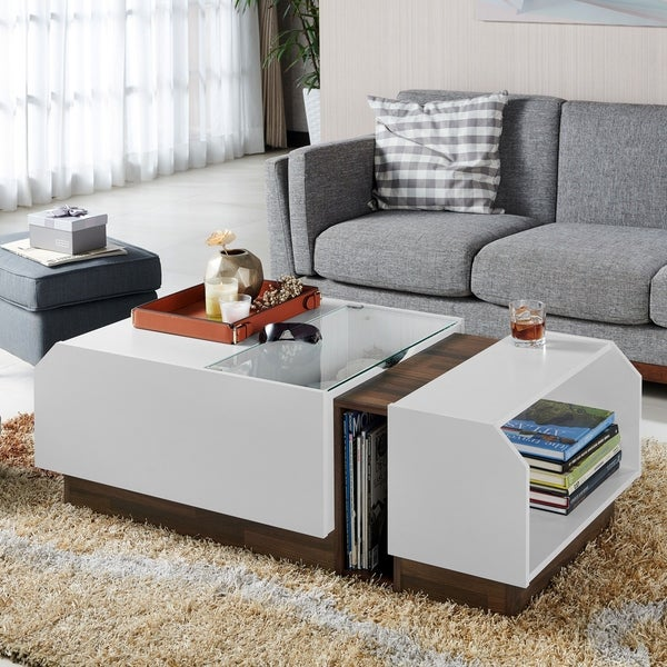 Adjustable Height Coffee Table: Furniture For Small Rooms Decoration Advice