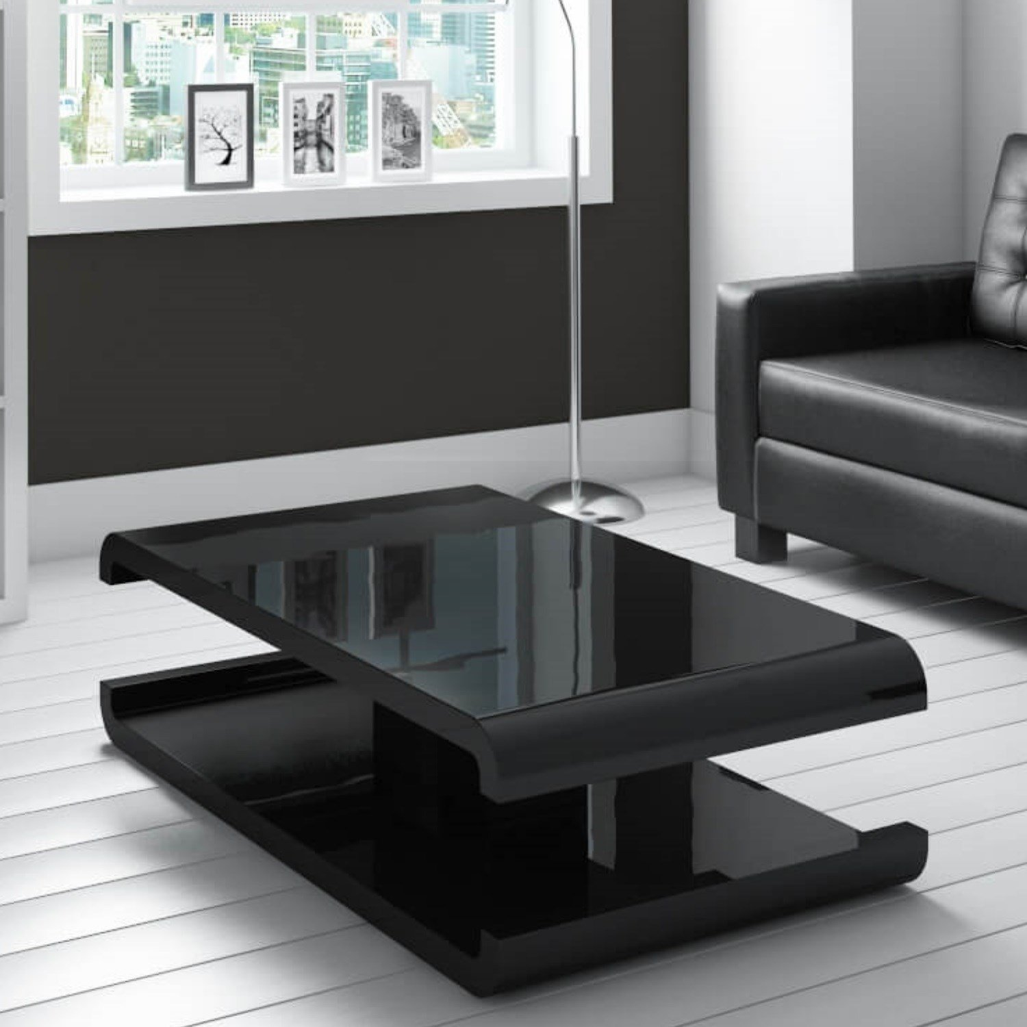 Living Room Furniture: Black Gloss Decoration Solutions That Work