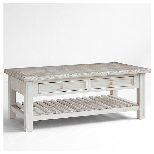 How To Make White Wash Finish Coffee Tables Work In Rustic Living Rooms