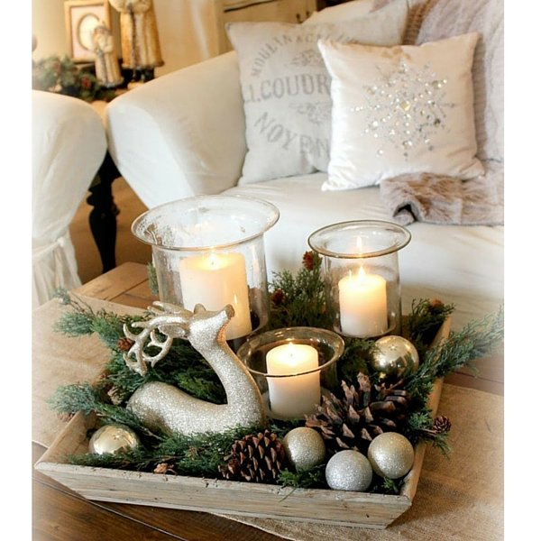 How To Decorate Coffee Table For Christmas: 8 Simple Ideas