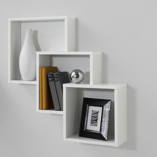 fibi white shelves - Planning A Living Room Furniture Layout: 7 Tips To Remember