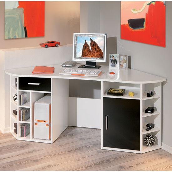 Fabri computer desk - 7 Corner Computer Desks For Bedroom Ideas That Work In Any Room